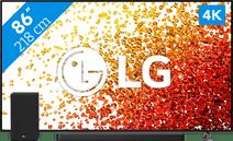 LG 86NANO756PA (2021) + Soundbar