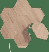 Nanoleaf Elements Wood Look Hexagons Starter Kit 13-Pack