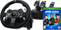 Logitech G920 Driving Force + F1 2021 Xbox Series X and Xbox One