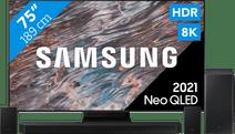 Samsung Neo QLED 8K 75QN800A (2021) + Barre de son