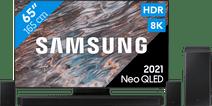 Samsung Neo QLED 8K 65QN800A (2021) + Soundbar