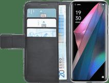 Azuri Wallet Oppo Find X3 Pro Book Case Zwart