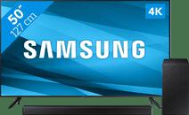 Samsung Crystal UHD 50AU7100 (2021) + Soundbar