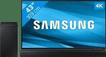 Samsung Crystal UHD 43AU8000 (2021) + Barre de Son