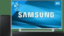 Samsung Crystal UHD 43AU9080 (2021) + Soundbar