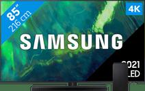Samsung QLED 85Q70A (2021) + Soundbar