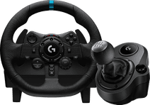 Logitech G923 Trueforce Racestuur met Force Feedback + Logitech Driving Force Shifter