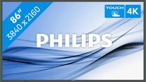 Philips Multi-touchdisplay 86BDL3552T/00 86 inch