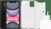 Apple iPhone 11 128 Go Noir + Pack d'Accessoires