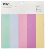 Cricut Smart Stickerkarton 33x33 Pastel