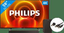 Philips 58PUS7805 - Ambilight + Soundbar +  HDMI Cable