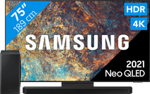 Samsung Neo QLED 75QN95A (2021) + Soundbar