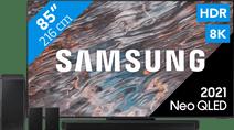 Samsung Neo QLED 8K 85QN800A (2021) + Soundbar