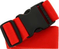 SININ kofferriem rood Kofferriem