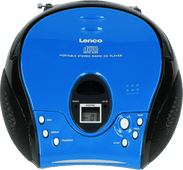 Lenco SCD-24 Blauw