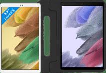Samsung Galaxy Tab A7 Lite 32GB Wifi Zilver + Kinderhoes Zwart