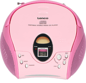 Lenco SCD-24 Roze