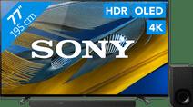 Sony Bravia OLED XR-77A80J (2021) + Soundbar