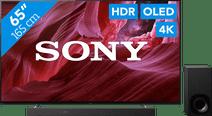 Sony OLED KE-65A8P (2021) + Soundbar