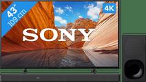 Sony KD-43X80J (2021) + Soundbar