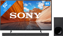 Sony KD-50X80J (2021) + Soundbar
