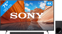 Sony KD-75X80J (2021) + Soundbar