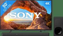 Sony KD-50X85J (2021) + Soundbar