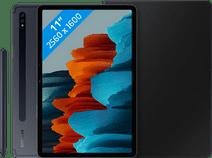 Samsung Galaxy Tab S7 128GB Wifi + 4G Zwart + Samsung Book Case Zwart