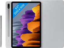 Samsung Galaxy Tab S7 128GB WiFi Silver + Samsung Book Case Gray