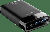 Cellularline Manta Powerbank 10.000 mah Power Delivery en Quick Charge Zwart