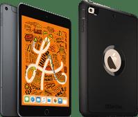 Apple iPad Mini 5 256 GB Wifi + 4G Space Gray + Otterbox Defender Full Body Case