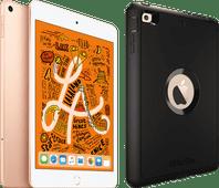 Apple iPad Mini 5 256 GB Wifi + 4G Goud + Otterbox Defender Full Body Case