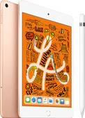 Apple iPad Mini 5 256 GB Wifi + 4G Goud + Stylus