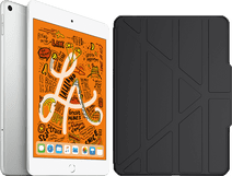 Apple iPad Mini 5 256 GB Wifi + 4G Zilver + ITSkins Book Case