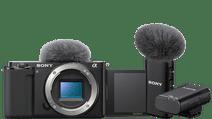 Sony ZV-E 10 + 16-50mm f/3.5-5.6+ Draadloze Microfoon