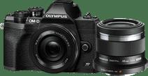 Olympus OM-D E-M10 Mark IV Noir + EZ 14-42 mm f/3.5-5.6 + M.Zuiko Digital 45 mm f/1.8 Appareils photo hybrides Olympus