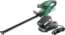 Bosch EasyHedgeCut 18-45 Li + Bosch 18 volt accu (2x)