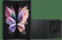 Samsung Galaxy Z Fold 3 256GB Zwart 5G + Samsung Draadloze Oplader DUO Pad 9W Zwart