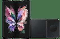 Samsung Galaxy Z Fold 3 512GB Phantom Black 5G + Samsung Wireless Charger DUO Pad 9W Black