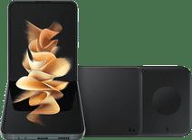 Samsung Galaxy Z Flip 3 256GB Groen 5G + Samsung Draadloze Oplader DUO Pad 9W Zwart