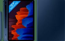 Samsung Galaxy Tab S7 Plus 128GB Wifi Blauw + Samsung Book Case Blauw