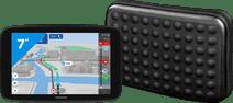 TomTom GO Discover 7 + Hama Dots Universele Navigatie Tas (7 inch)