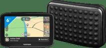 TomTom GO Classic 6 Europa + Hama Dots Universele Navigatie Tas (6 inch)