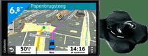 Garmin Drivesmart 65 LMT-S Europa + Garmin Beanbag Dashboardsteun
