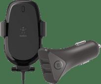 Belkin Boost Up Draadloze Autolader + BlueBuilt Autolader 2 Usb