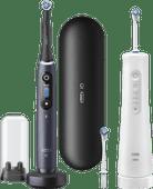 Oral-B iO - 8n Zwart + Aquacare Pro Expert 6