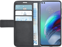Azuri Wallet Motorola Moto G100 Book Case Zwart