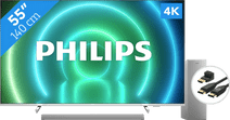 Philips 55PUS7956 (2021) - Ambilight + Soundbar + Hdmi kabel