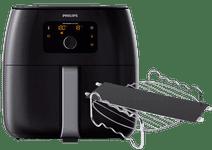 Philips Avance Airfryer XXL HD9650/90 + Kookrek + Panverdeler