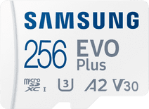 Samsung Evo Plus 256GB microSDXC UHS-I U3 130Mb/s Full HD & 4K UHD Memory Card with Adapte